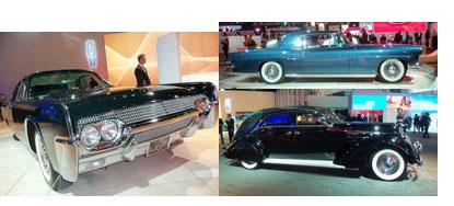 Vintage Lincolns at LA Auto Show