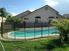 five foot pool fence