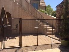 5 feet pool fence