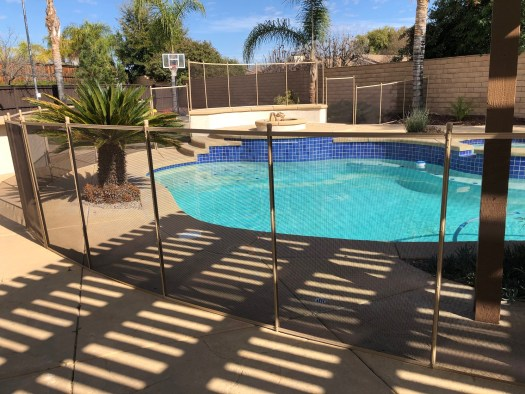 Murrieta Pool Fence