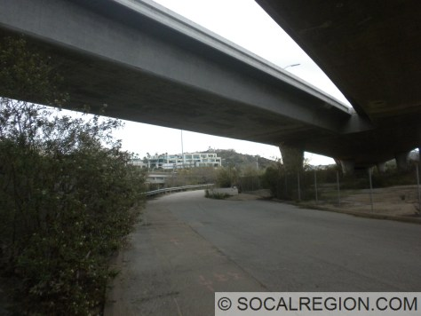 Old Sorrento Valley Road at the I-5/SR-56 Interchange