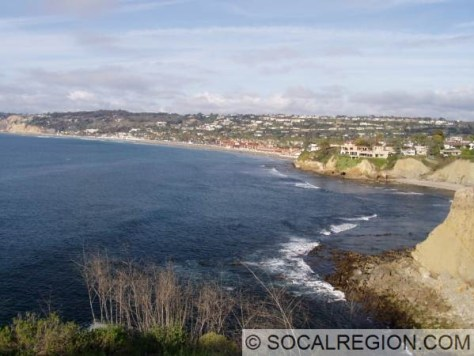 La Jolla Shores from Coast Walk.