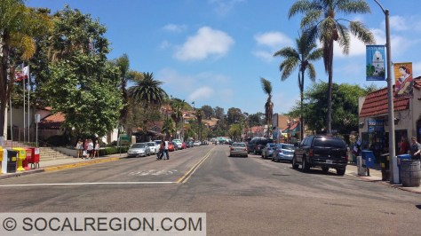 San Diego Ave through Old Town.