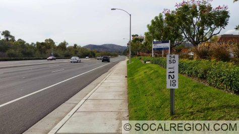 Postmile for State 54 in Rancho San Diego.