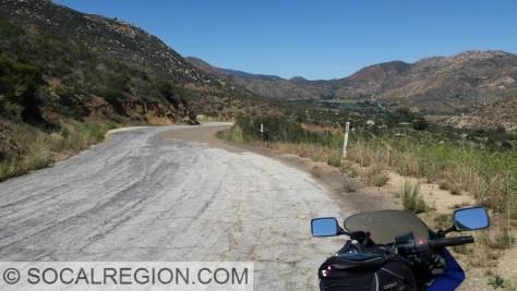 Old Highway 94 - Barrett Smith Road - near Dulzura, CA