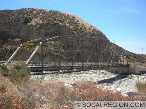 1912 Steel Truss over the Santa Ana River
