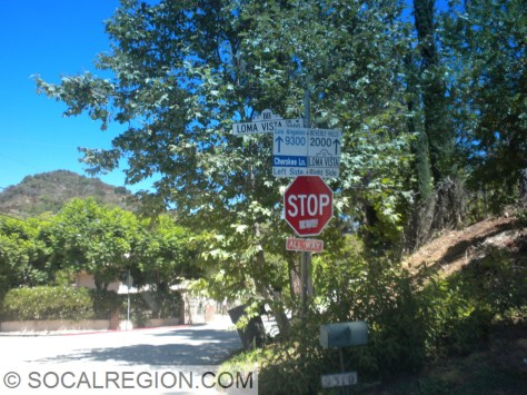 Reaching Bowmont, the street changes names.