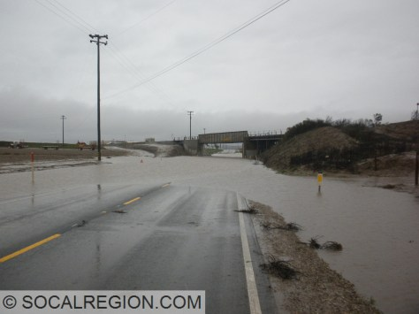 Underpass just north of Guadalupe, where the SP Coast Line passes over Hwy 1.