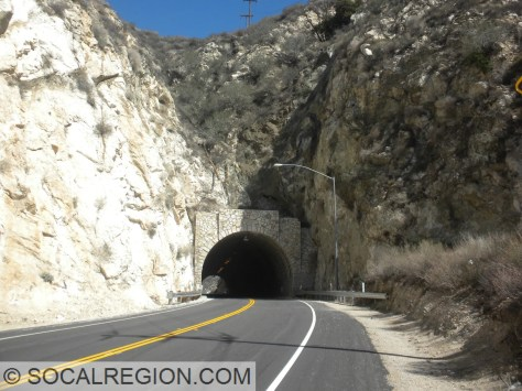 Soledad Canyon Tunnel and the Pole Canyon Fault.