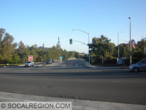 End of the long ramps to Foothill Blvd.