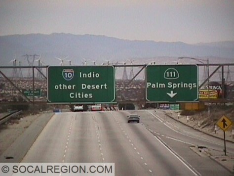 """Instead of Phoenix, we get """"other Desert Cities"""", referring to towns along the 10 corridor instead of the 111."""