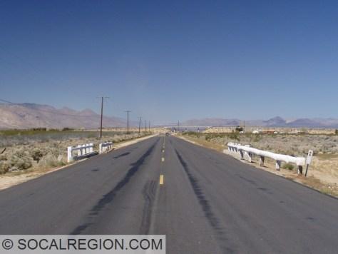 1941 bridge on the pre-1957 alignment of US 395 near Inyokern, CA.