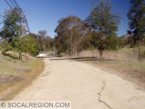 Original section of Del Dios Highway near Rancho Santa Fe.