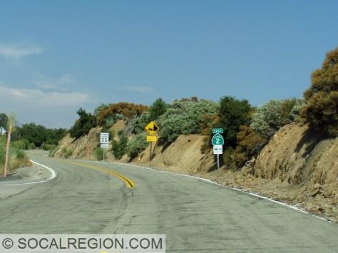 At Upper Big Tujunga Canyon Road.