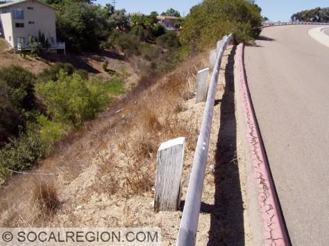 1950's railing still intact.