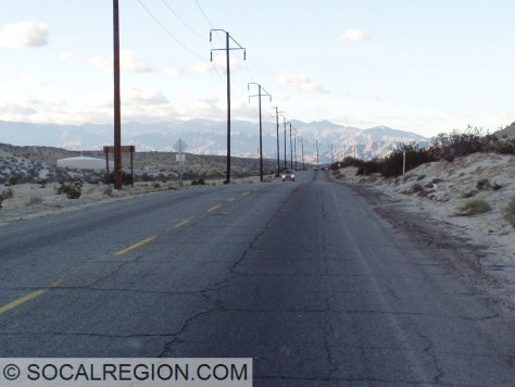 Varner Road near Edom Hill, former US 99 until the late 1940's.
