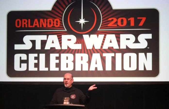 Legendary Star Wars novelist, Timothy Zahn, teaches a writing seminar at Celebration Orlando.