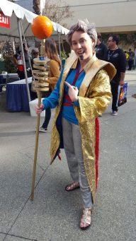Grandmaster with his Melt Stick.