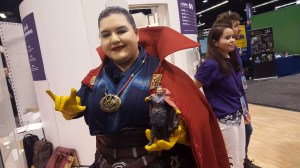 Genderbend Doctor Strange is no match for mini-Doctor Strange.