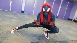 Into the Spider-Verse with Miles Morales.
