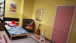 An innocent bedroom