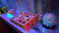 Experimenting with test tubes and slime