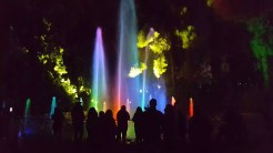 """""""Splashes of Light"""" water and laser show"""