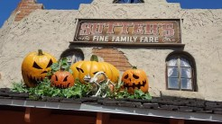 Halloween Decor at Sutter's Grill