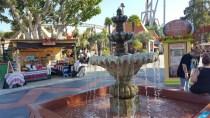Water fountain in Fiesta Village