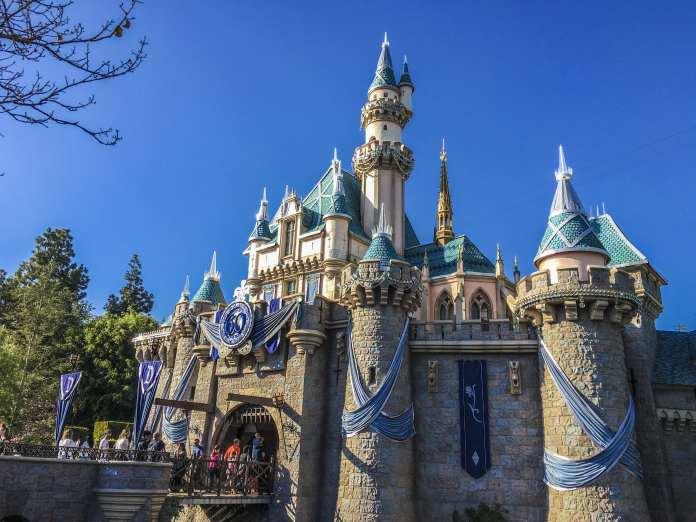 Sleeping Beauty Castle's 60th Anniversary Overlay