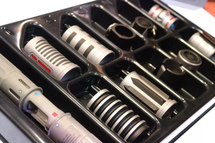 Depending on which trait is chosen, a wide array of parts become available to create a truly custom lightsaber.