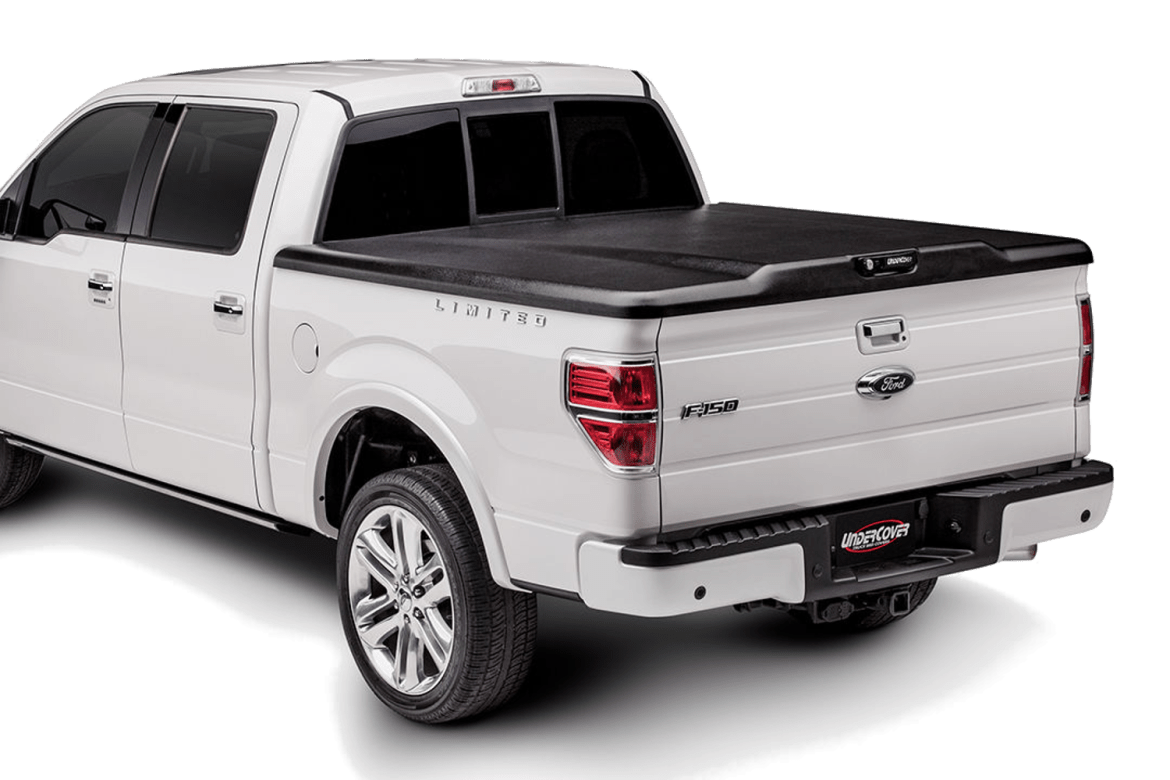 UnderCover Classic tonneau cover installed on a Ford F150.