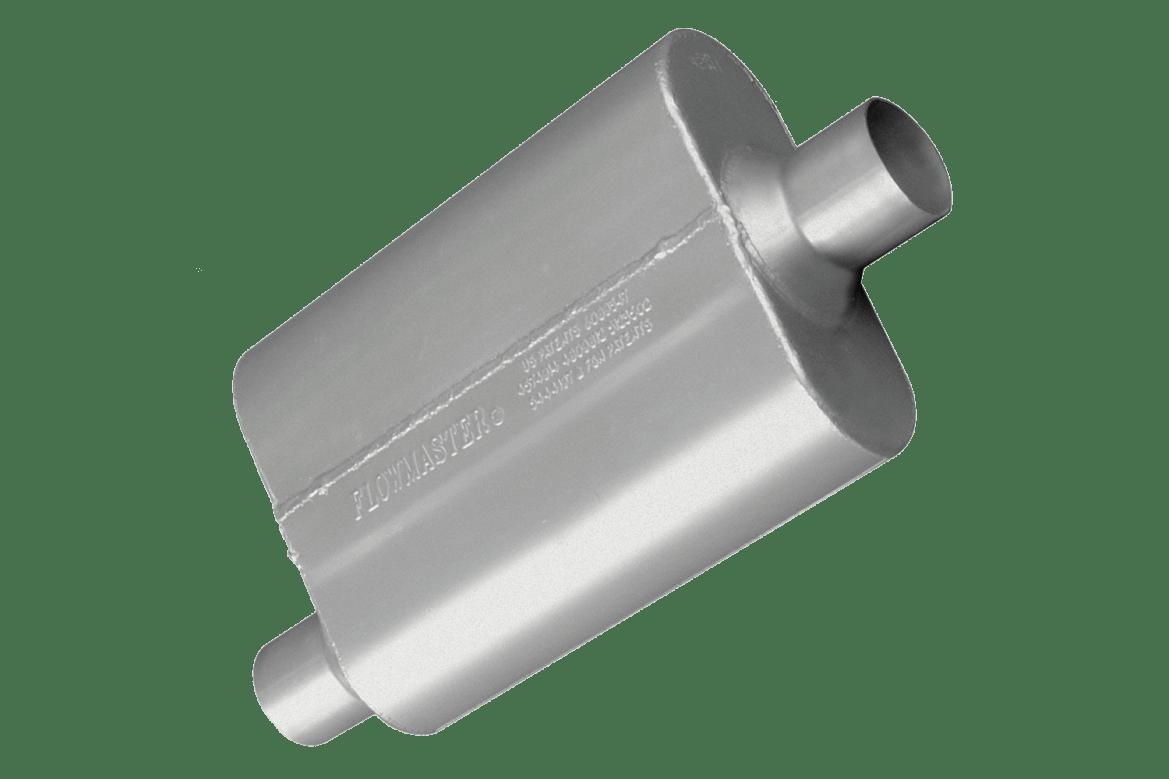 Flowmaster 40 series muffler.