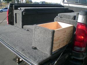 carpet kit drawer option