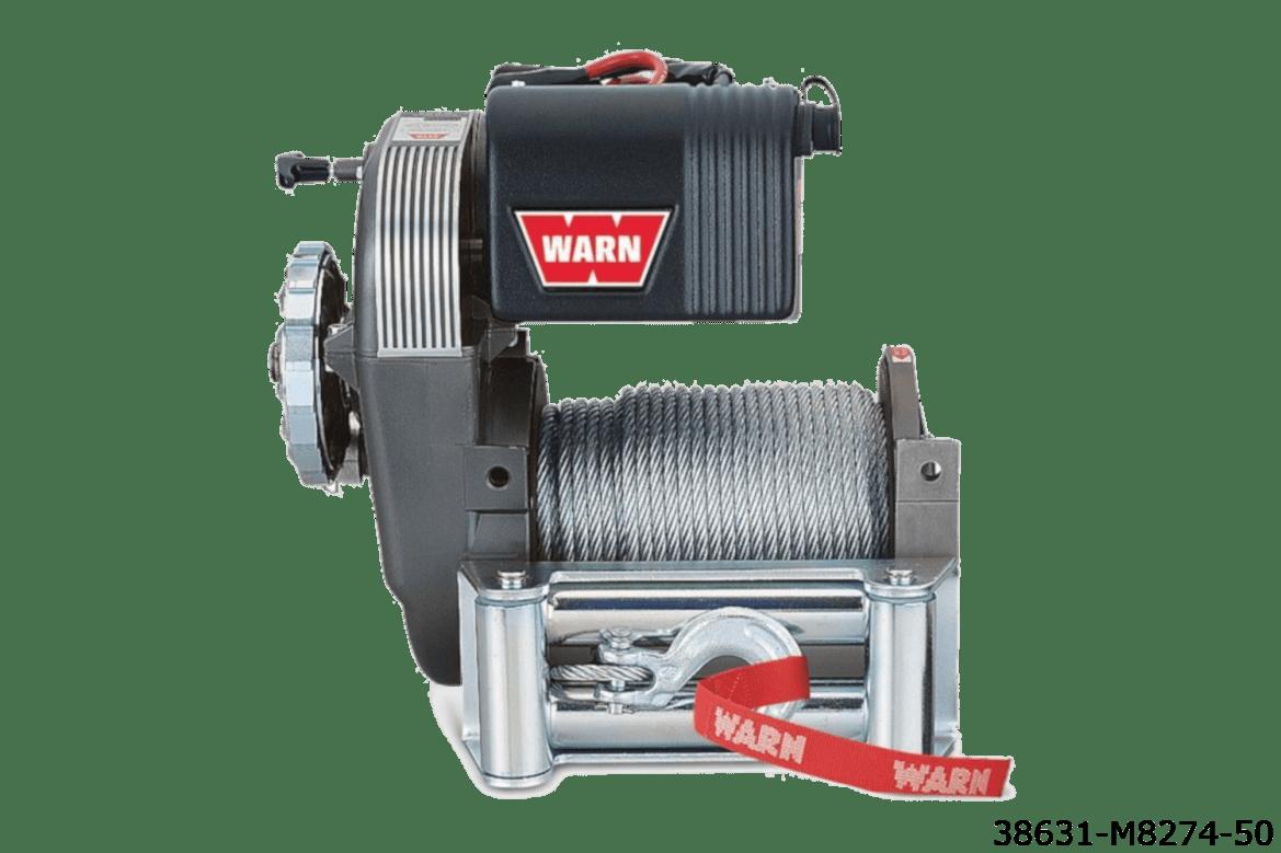 warn truck & suv classic winches 38631 m8274-50