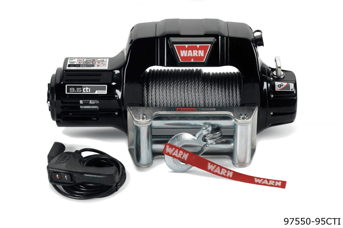 warn truck & suv classic winches 97550 9.5cti