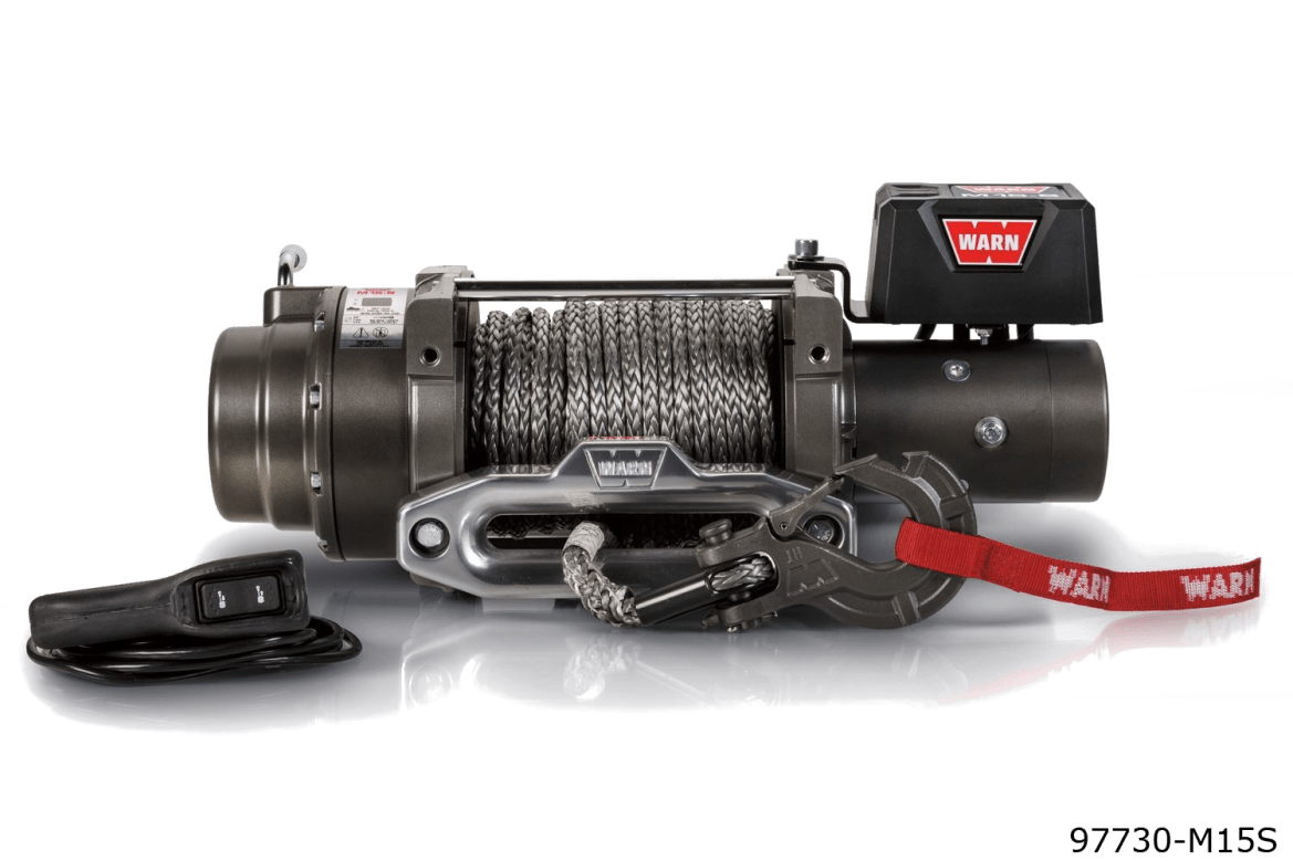 warn truck & SUV heavyweight winches 97730 m15s