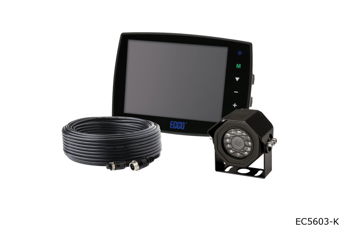 ecco camera systems ec5603-k wired systems