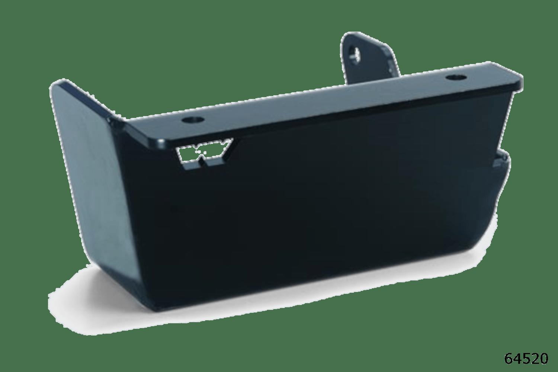 warn truck & suv body armor skid plate 64520