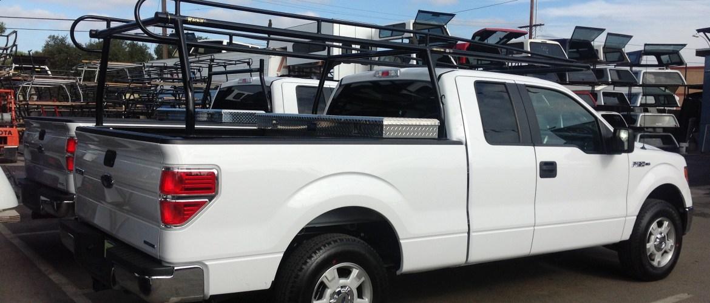 Standard Rack It 1000 Series lumber rack with UWS Crossover box