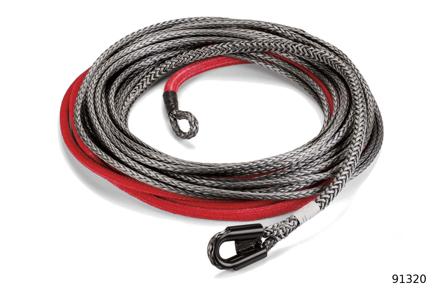 warn industrial rigging accessories spydura pro synthetic rope 93120
