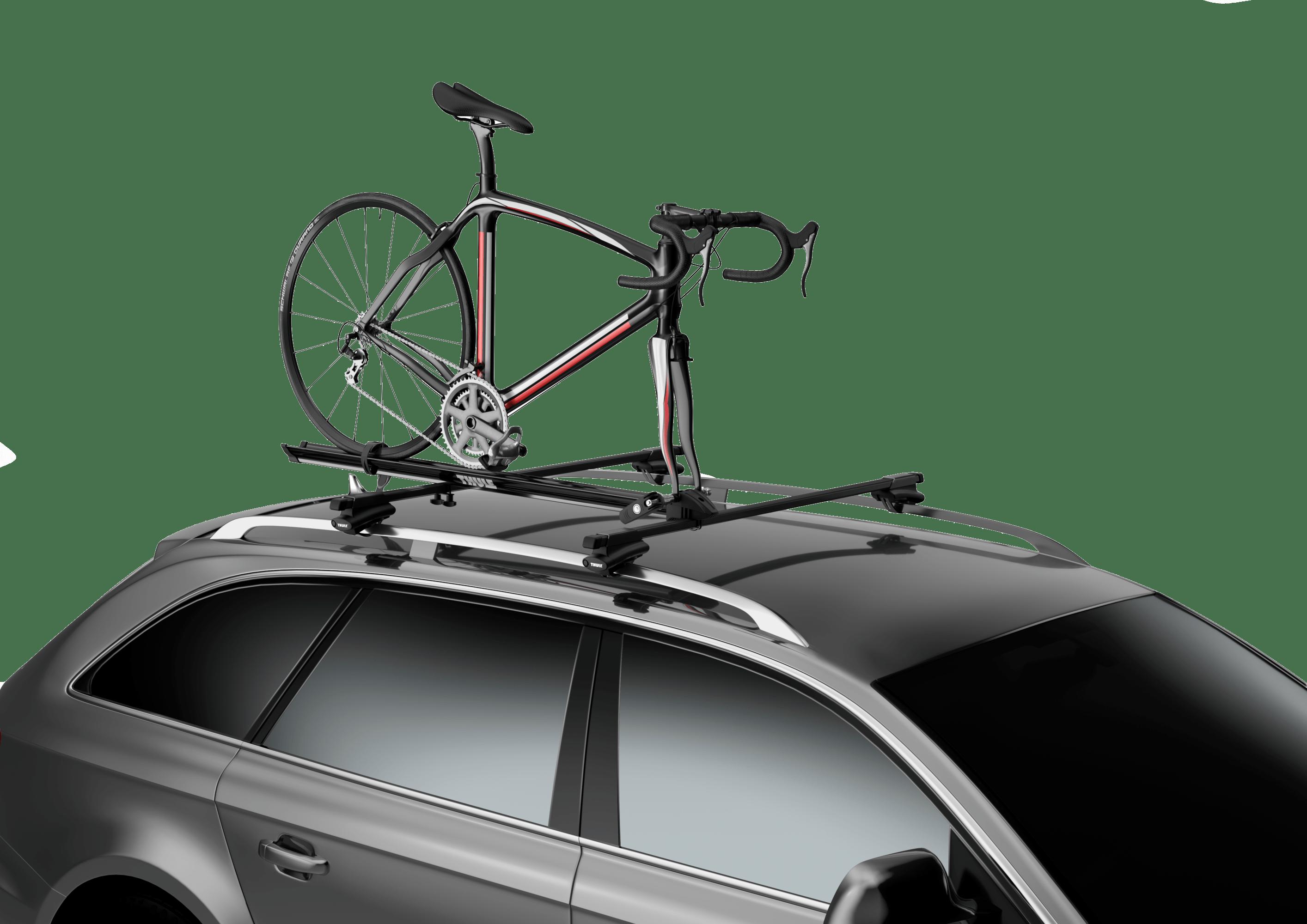 thule roof bike rack, thule roof bike racks, thule prologue bike rack