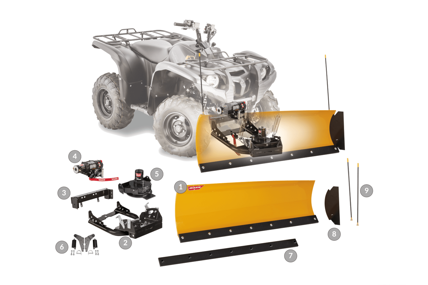 warn powerspors plow systems