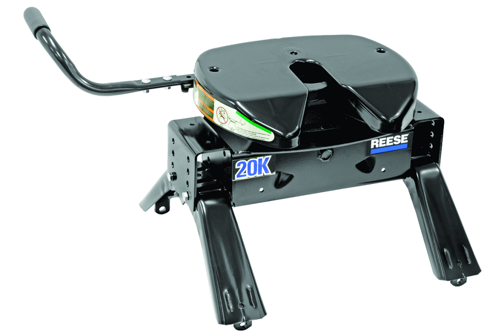 Reese 5th wheel hitch product view.