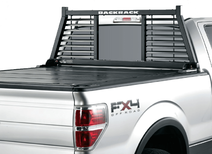 BACKRACK HALF LOUVERED RACK truck rack.