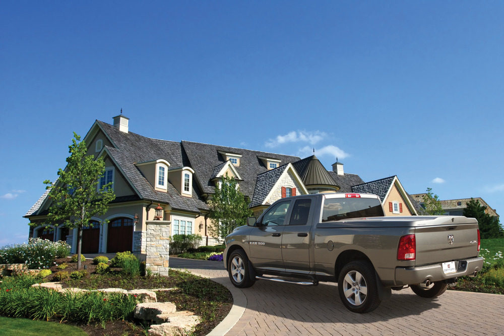 The Century Tonneau Cover Cargolid has the ability to fully transport all of the families belongings securely.
