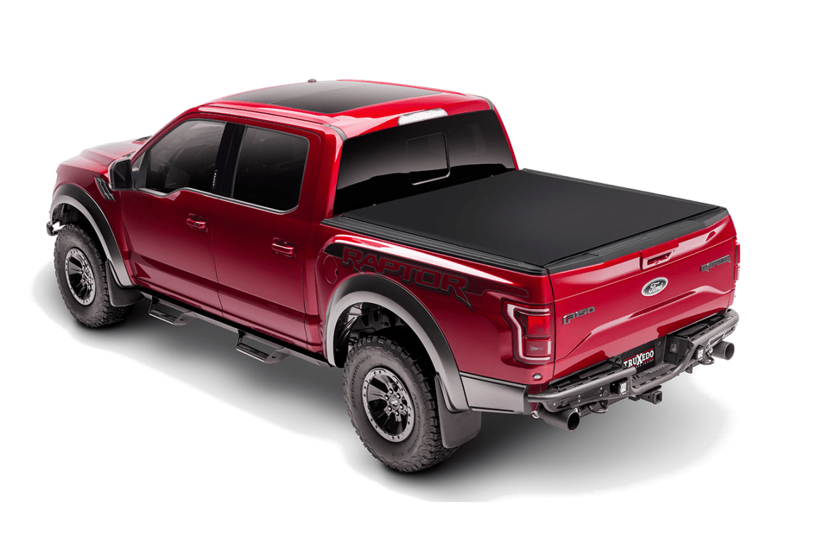 Truxedo roll up Centry Ct installed on a Ford Raptor.