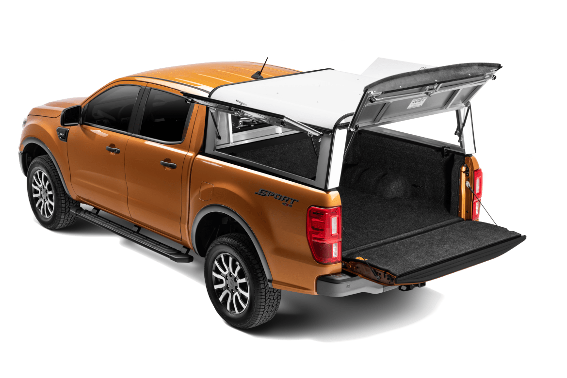 ARE DCU shown installed on a Ford Ranger all rear doors open.