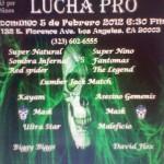 Lucha Pro 02-05-2012