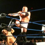 Samoa  Joe face washes Christopher Daniels